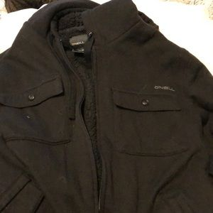 O'Neill fleece lined sweatshirt/jacket